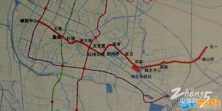 常州地铁规划图,常州市成为江苏省第4个获准建设城市轨道交通的城市